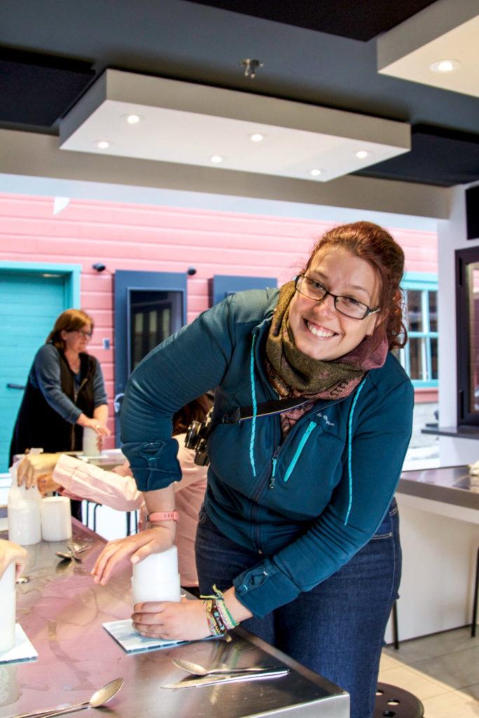 Atelier de fabrication de fromage - Visiter la région du Saguenay Lac Saint-Jean