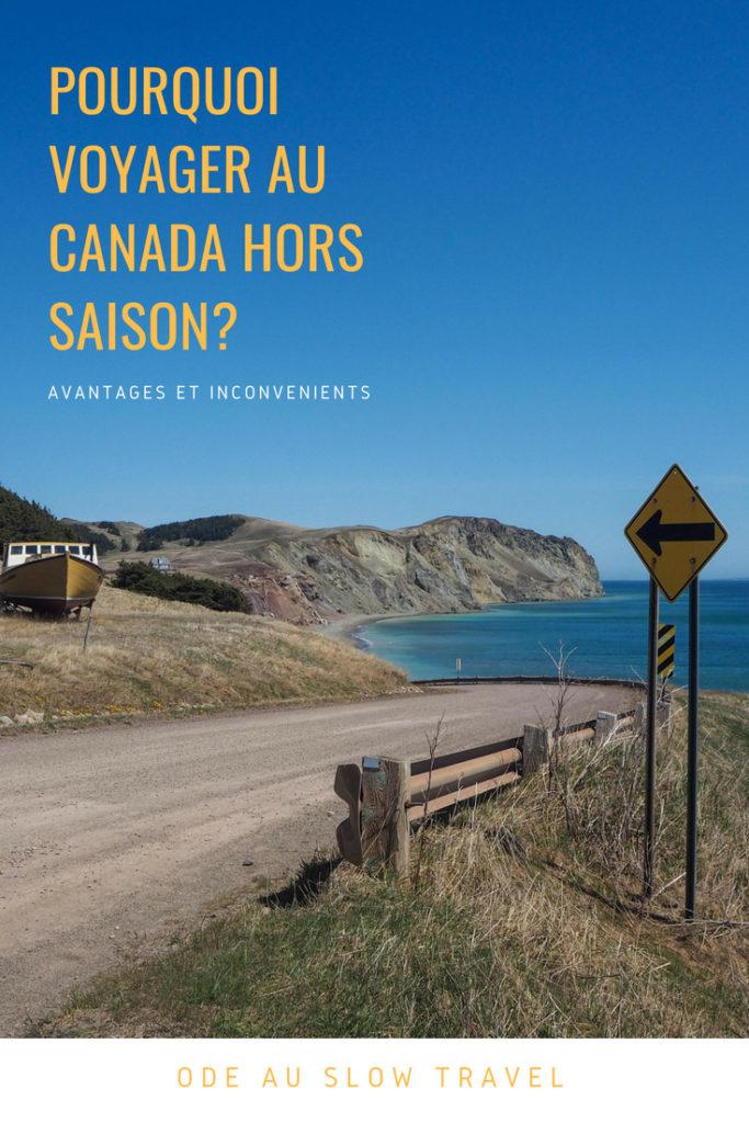 Voyager au Canada hors saison et vivre le printemps au Québec? Tous les avantages et les inconvénients d'un voyage au Canada au printemps et oui, mon voyage était sublime! Ode au slow travel