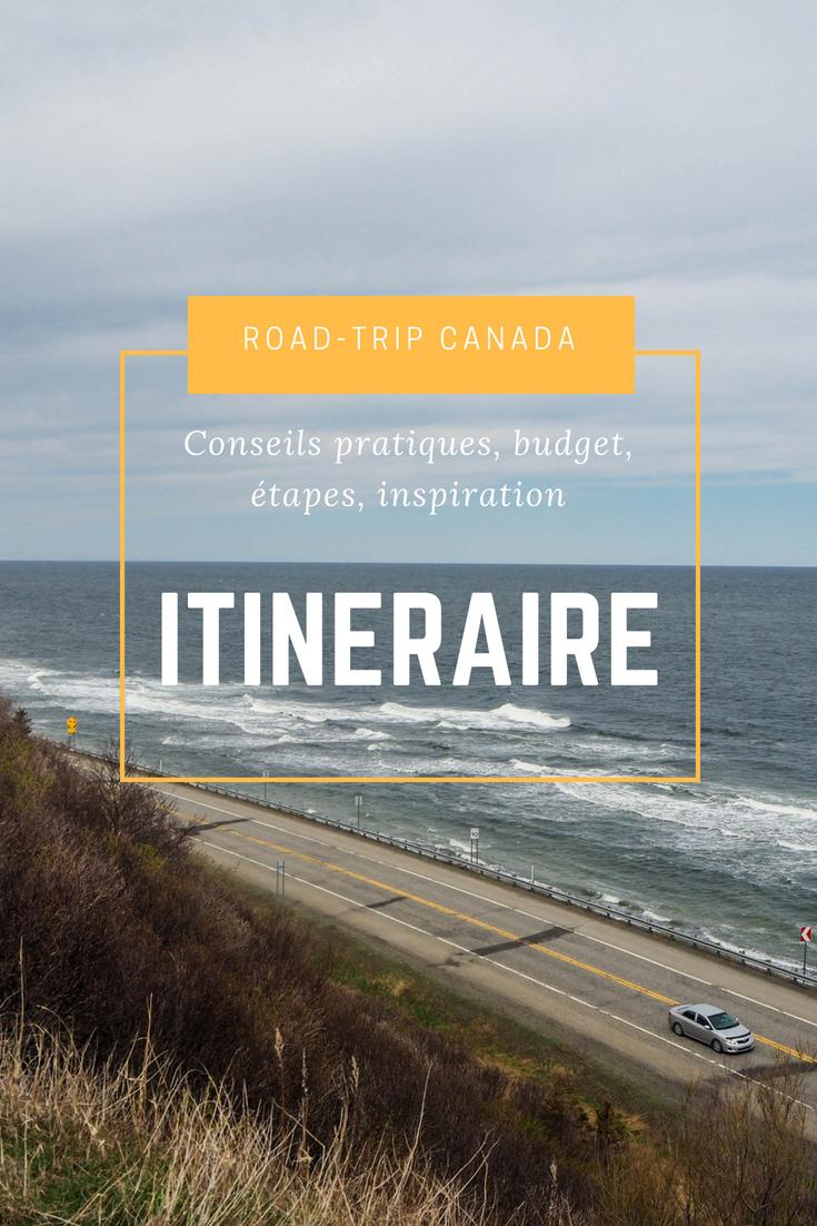 Itinéraire d'un road-trip au Canada dans l'est Canadien - 15 jours entre le Bas Saint-Laurent, la Gaspésie et le Nouveau-Brunswick - 3000km pour un road-trip en solo extraordinaire #voyage #canada #roadtrip #voyagerseule #nouveaubrunswick #newbrunswick #gaspésie #basaintlaurent #québec