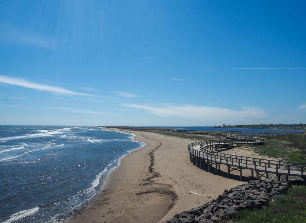 Dune de Bouctouche - Itinéraire de road-trip au Canada - 15 jours entre le Bas Saint-Laurent, la Gaspésie et le Nouveau-Brunswick