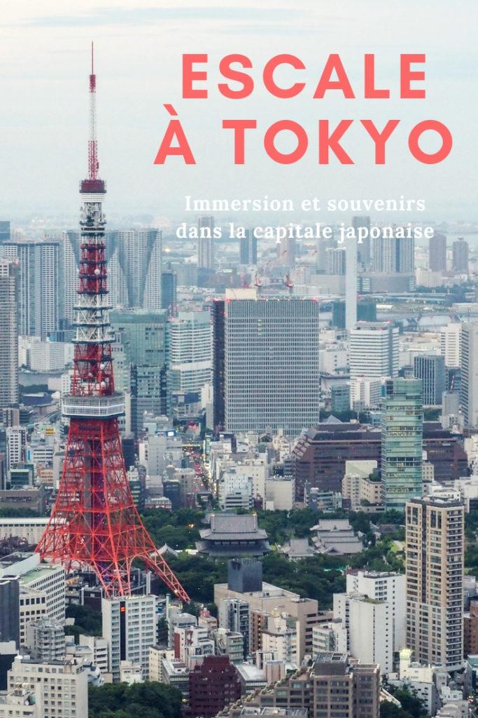 Escale à Tokyo au Japon - Que faire et que visiter en une journée à Tokyo? Récit, souvenirs et immersion dans la capitale japonaise