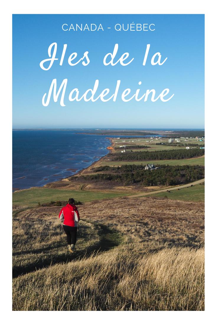 Un voyage aux Îles de la Madeleine au Québec au Canada hors saison: voyager aux îles sans les touristes