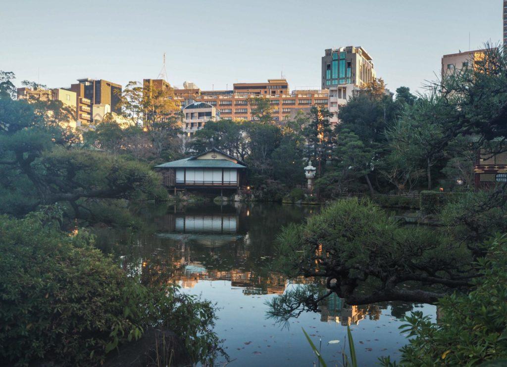 Jardin japonais Sorakuen - Visiter Kobe: une ville au coeur de la nature au Japon