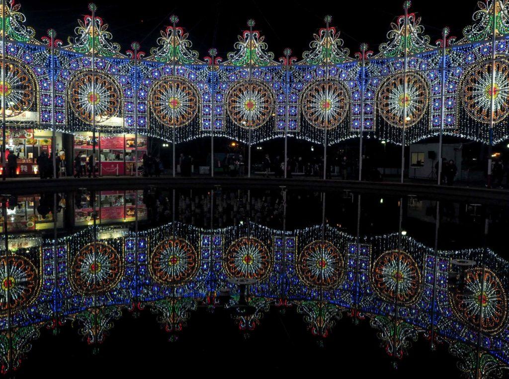 Le Festival Luminarie à Kobe - Visiter Kobe: une ville au coeur de la nature au Japon