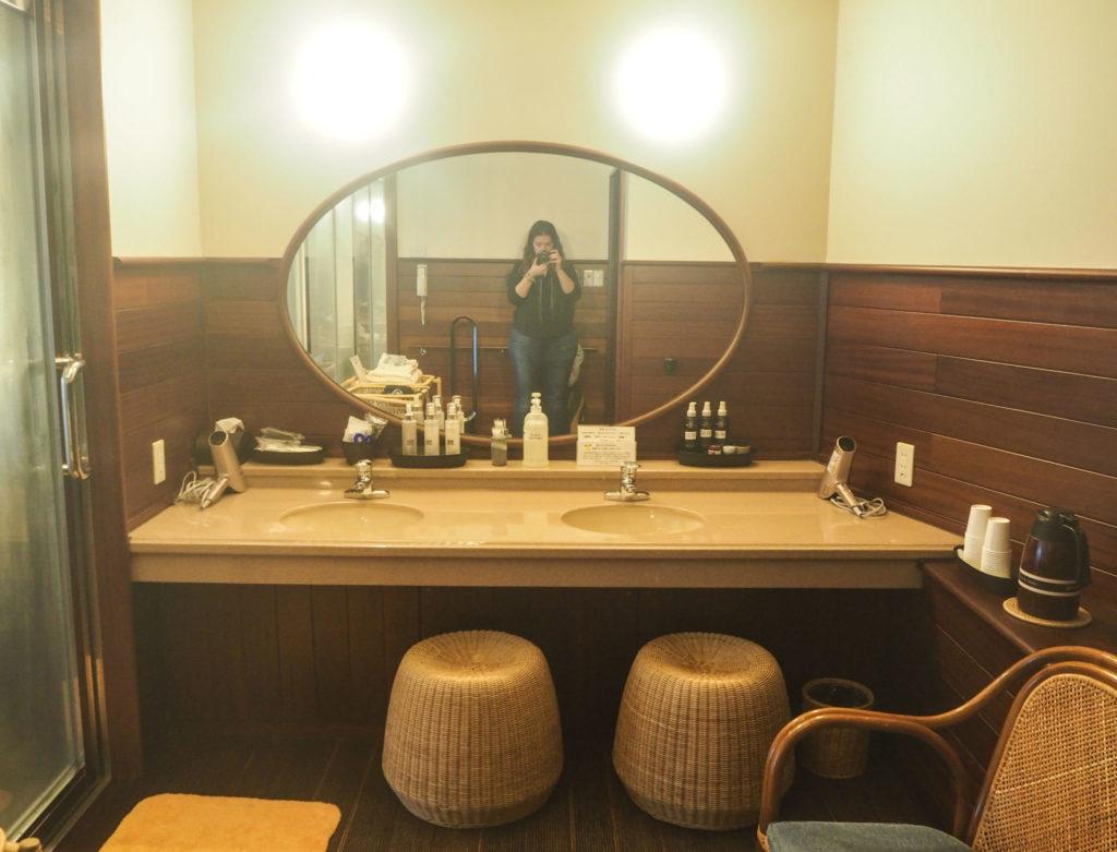 Onsen privé dans un ryokan à Arima Onsen - Visiter Kobe: une ville au coeur de la nature au Japon