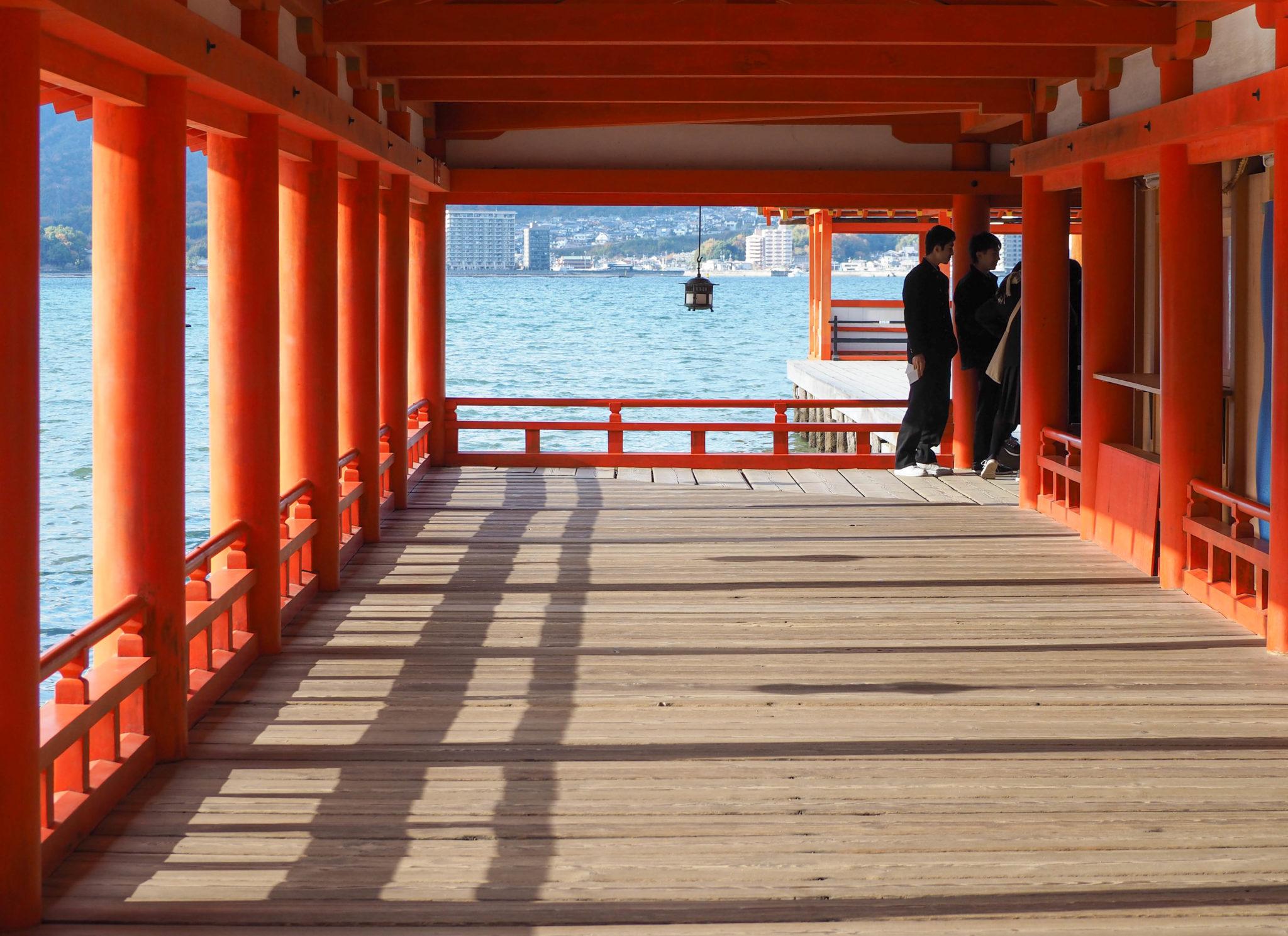 Le sanctuaire Itsukushima à Miyajima - Visiter Miyajima en 2 jours - Japon - Impressions, que faire et que visiter à Miyajima, comment organiser son voyage et où dormir à Miyajima?