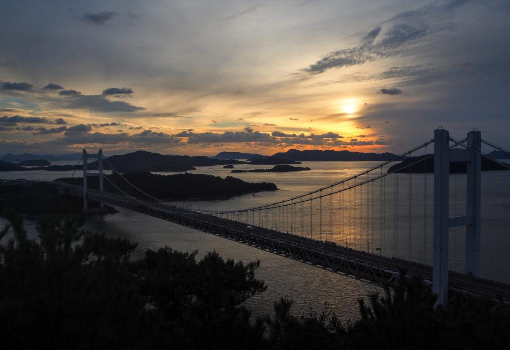 Washuzan et le pont Seto Ohashi - Visiter Okayama au Japon, une ville au coeur de la campagne japonaise