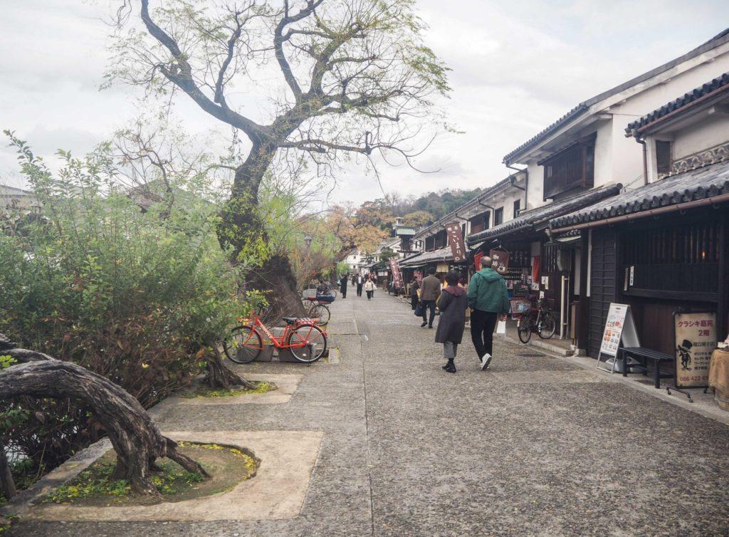 La ville de Kurashiki et le quartier traditionnel Bikan - La campagne japonaise à Okayama - Visiter Okayama au Japon, une ville au coeur de la campagne japonaise