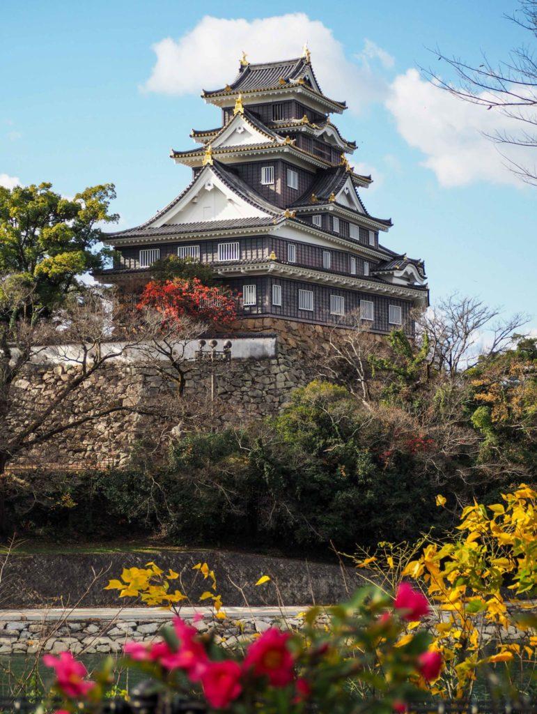 Château d'Okayama, le U-Jo, le château noir - Visiter Okayama au Japon, une ville au coeur de la campagne japonaise