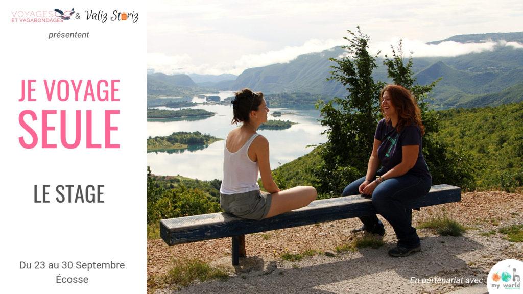 Je voyage seule: le stage... en Ecosse - Lucie de Voyages et Vagabondages et Nastasya de Valiz Storiz