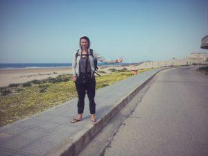 Astrid du blog de voyage alternatif Histoire de Tongs