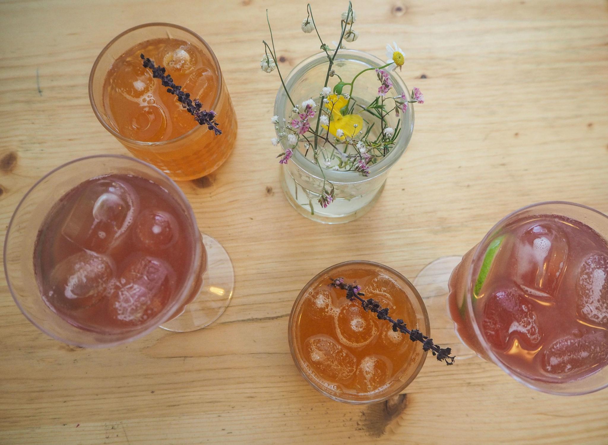 Cocktails sans alcool au Botaniste à Strasbourg - Visiter Strasbourg au fil de l'eau: 2 jours dans la capitale alsacienne entre amies - Par Voyages et Vagabondages, le blog du voyage en solo au féminin - Récit, photos, conseils, idées de visite et bonnes adresses pour visiter Strasbourg