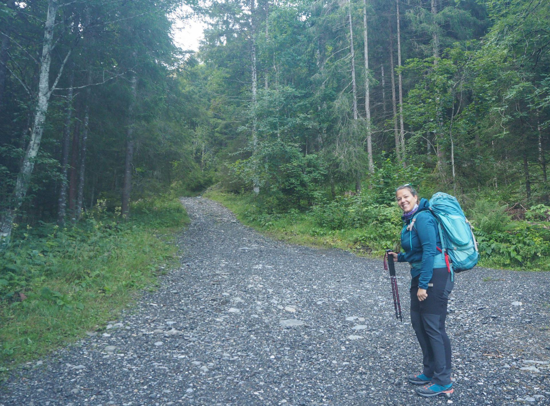 Avant de commencer le trek en solo - Jour 1 du Tour des Dents du Midi - Faire un trek en solo en Suisse: réflexions, préparatifs, introspection, récupération et bilan