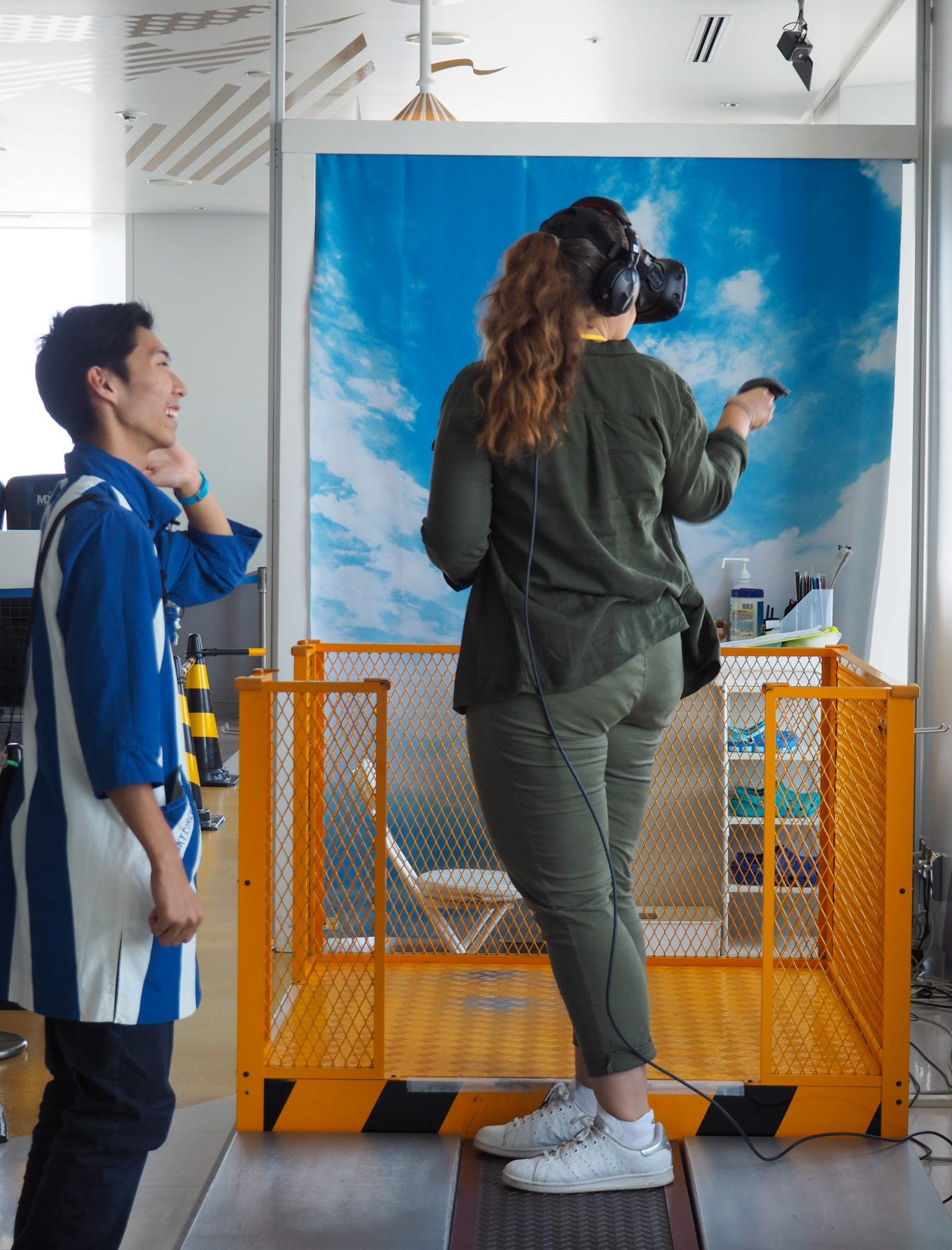 Réalité virtuelle à Sky Circus Sunshine 60 à Ikebukuro - Escale à Tokyo: 24h dans la capitale du Japon - Tokyo en 24h - Récit et itinéraire pour visiter Tokyo en une journée