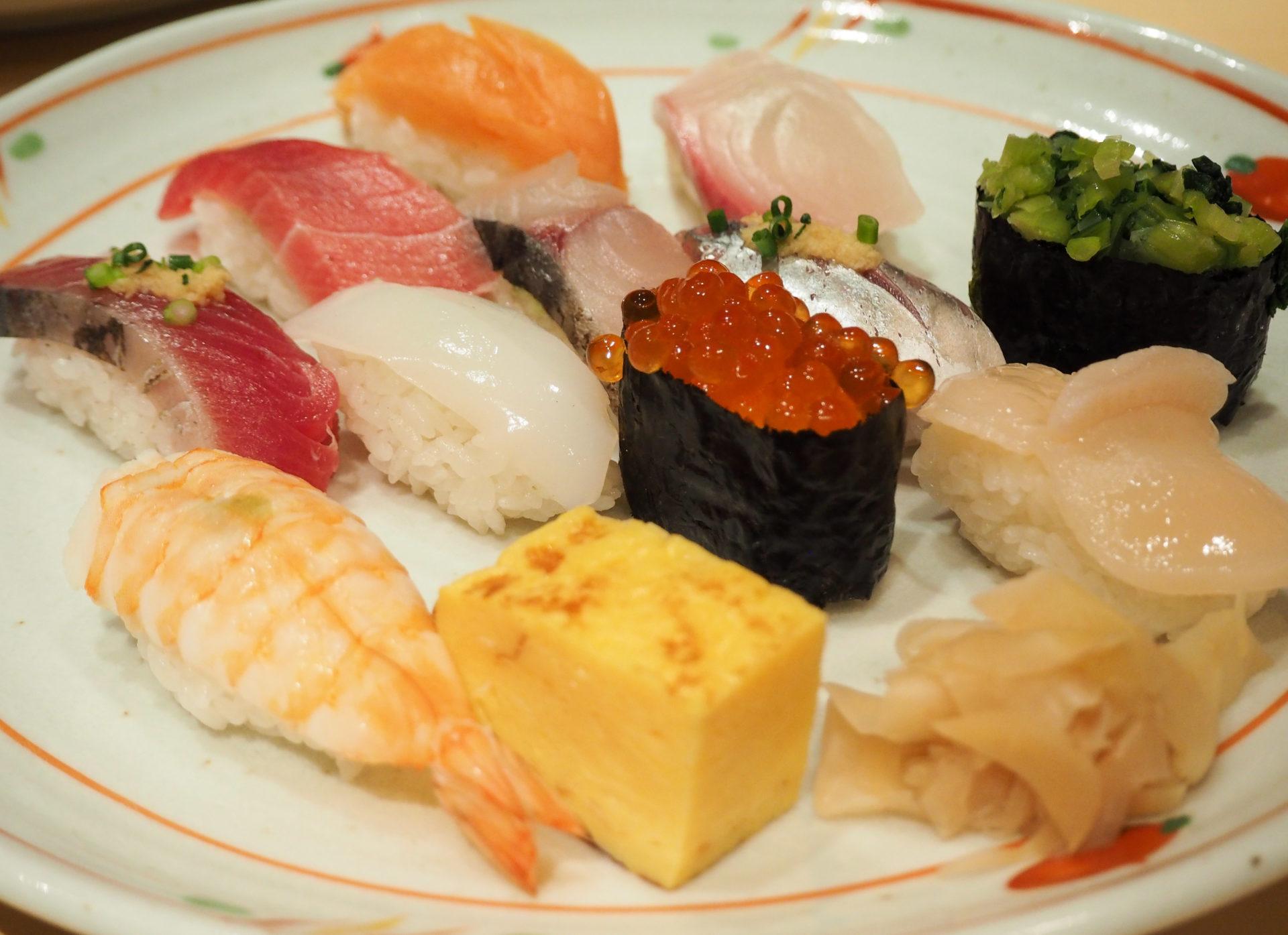 Restaurant de sushis à Ikebukuro - Escale à Tokyo: 24h dans la capitale du Japon - Tokyo en 24h - Récit et itinéraire pour visiter Tokyo en une journée