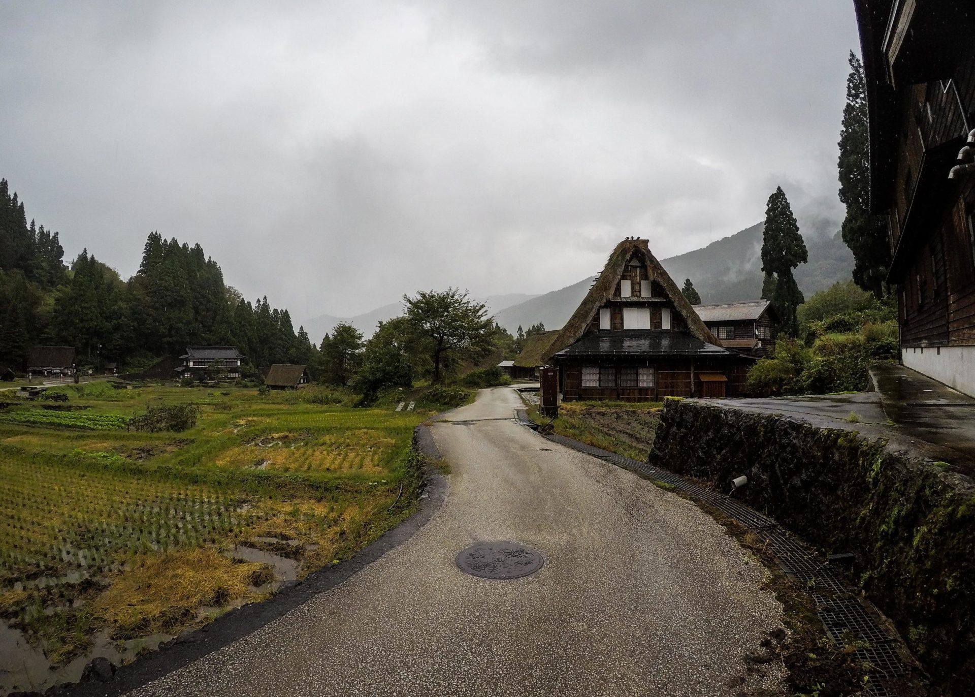 Gokayama dans la Préfecture de Toyama au Japon au coeur des Alpes Japonaises