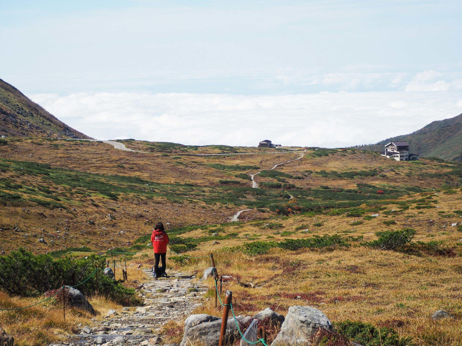 Paysages volcaniques - Série photo dans les Alpes Japonaises - Photo Alpes Japonaises - Toyama - Murodo - Tateyama - Japon