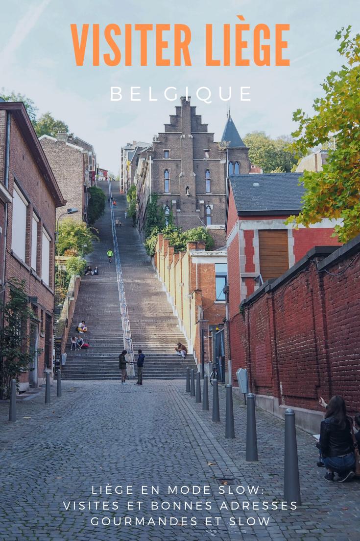 Visiter Liège en Belgique en mode slow: que faire et que visiter à Liège? Toutes mes bonnes adresses gourmandes, slow, locales, bio et végé et toutes les informations pratiques pour vivre le meilleur voyage slow à Liège. #voyage #europe #belgique #liège #slowtravel #slow #voyageslow