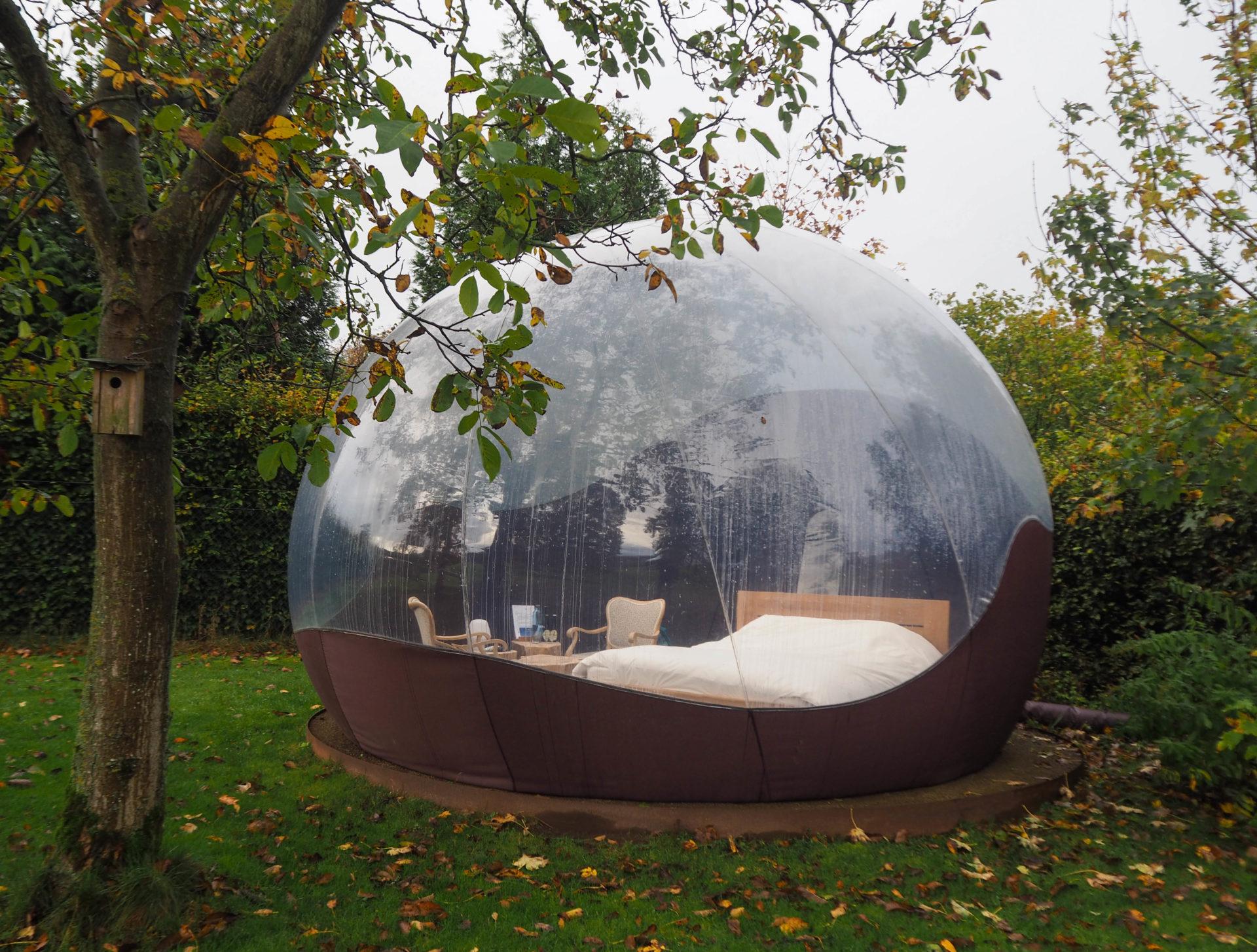 Dans ma bulle, Le Chant des Etoiles à Spa - Ardenne Belge - Province de Liège - Voyage slow en Belgique