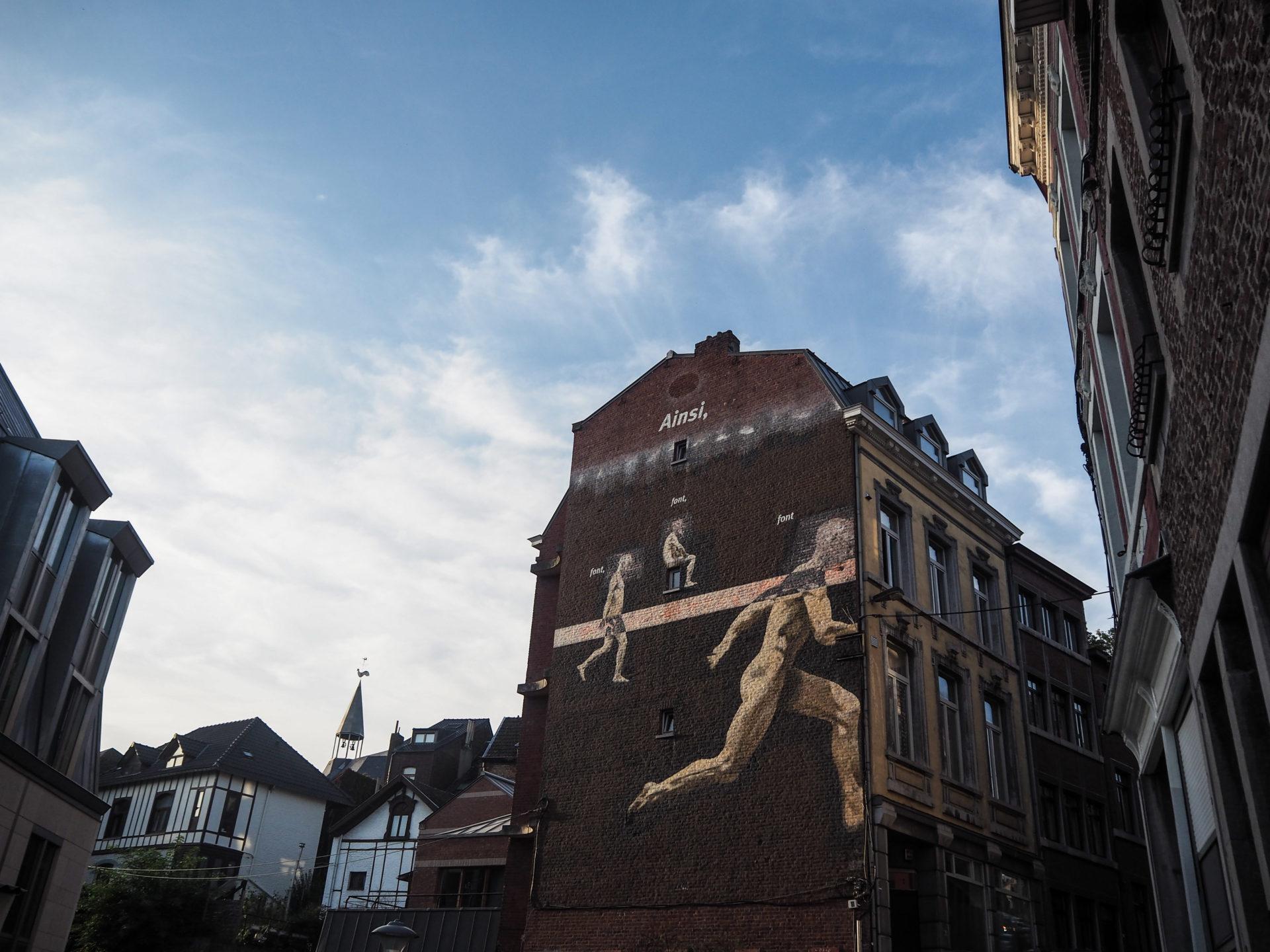 Street art au centre-ville de Liège - Visiter Liège en Belgique en mode slow - Que faire et que visiter à Liège? - Adresses slow et gourmandes à Liège - Informations pratiques pour visiter Liège et en tomber amoureuse en quelques instants!