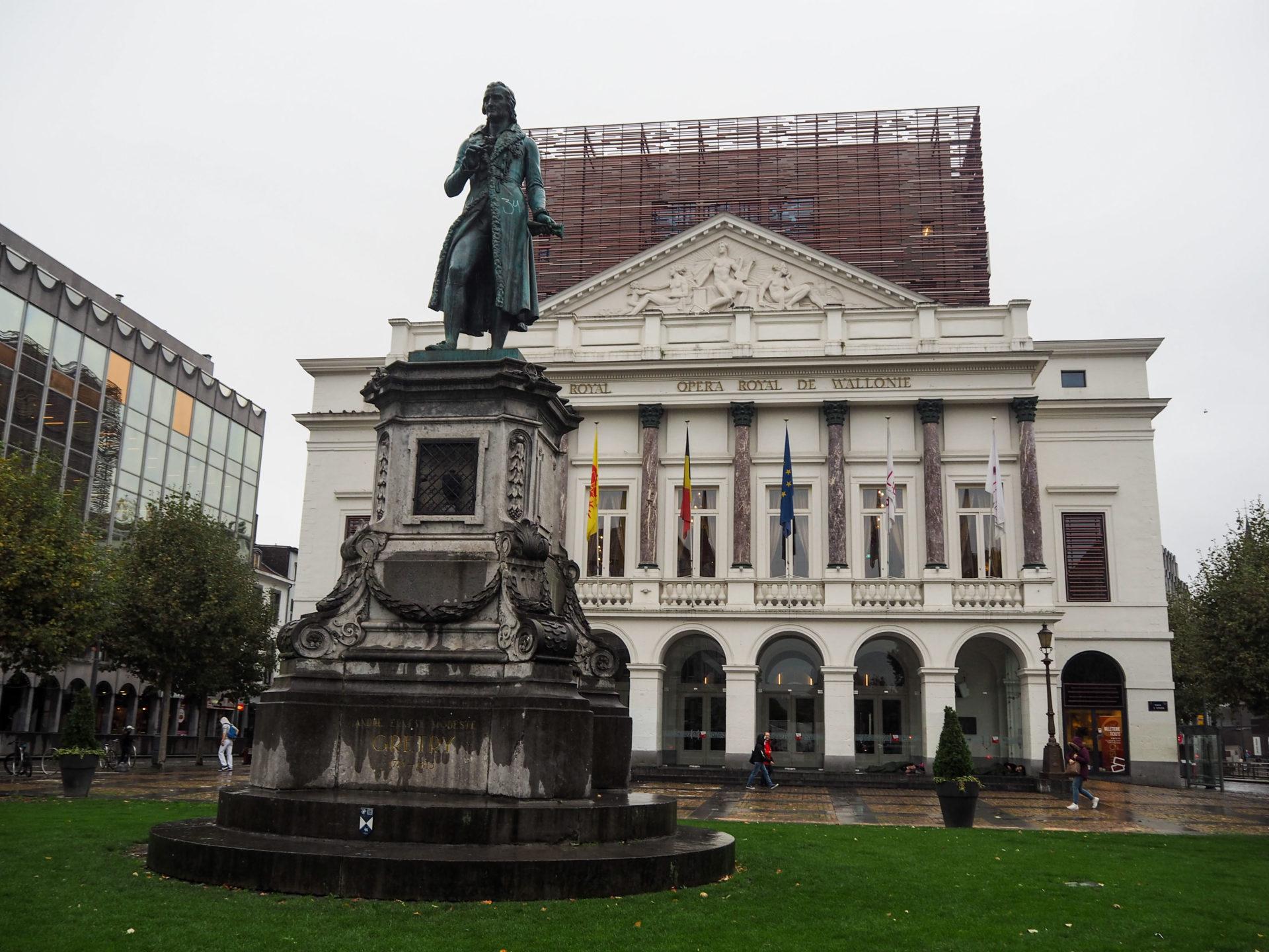 Opéra de Liège - Visiter Liège en Belgique en mode slow - Que faire et que visiter à Liège? - Adresses slow et gourmandes à Liège - Informations pratiques pour visiter Liège et en tomber amoureuse en quelques instants!