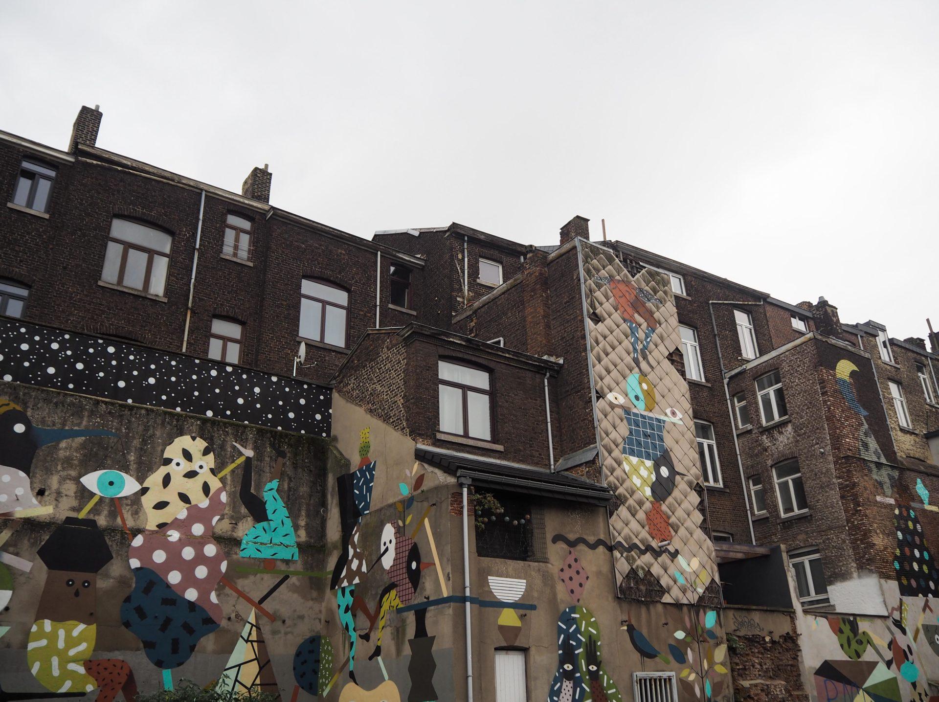 Street art à Liège - Visiter Liège en Belgique en mode slow - Que faire et que visiter à Liège? - Adresses slow et gourmandes à Liège - Informations pratiques pour visiter Liège et en tomber amoureuse en quelques instants!
