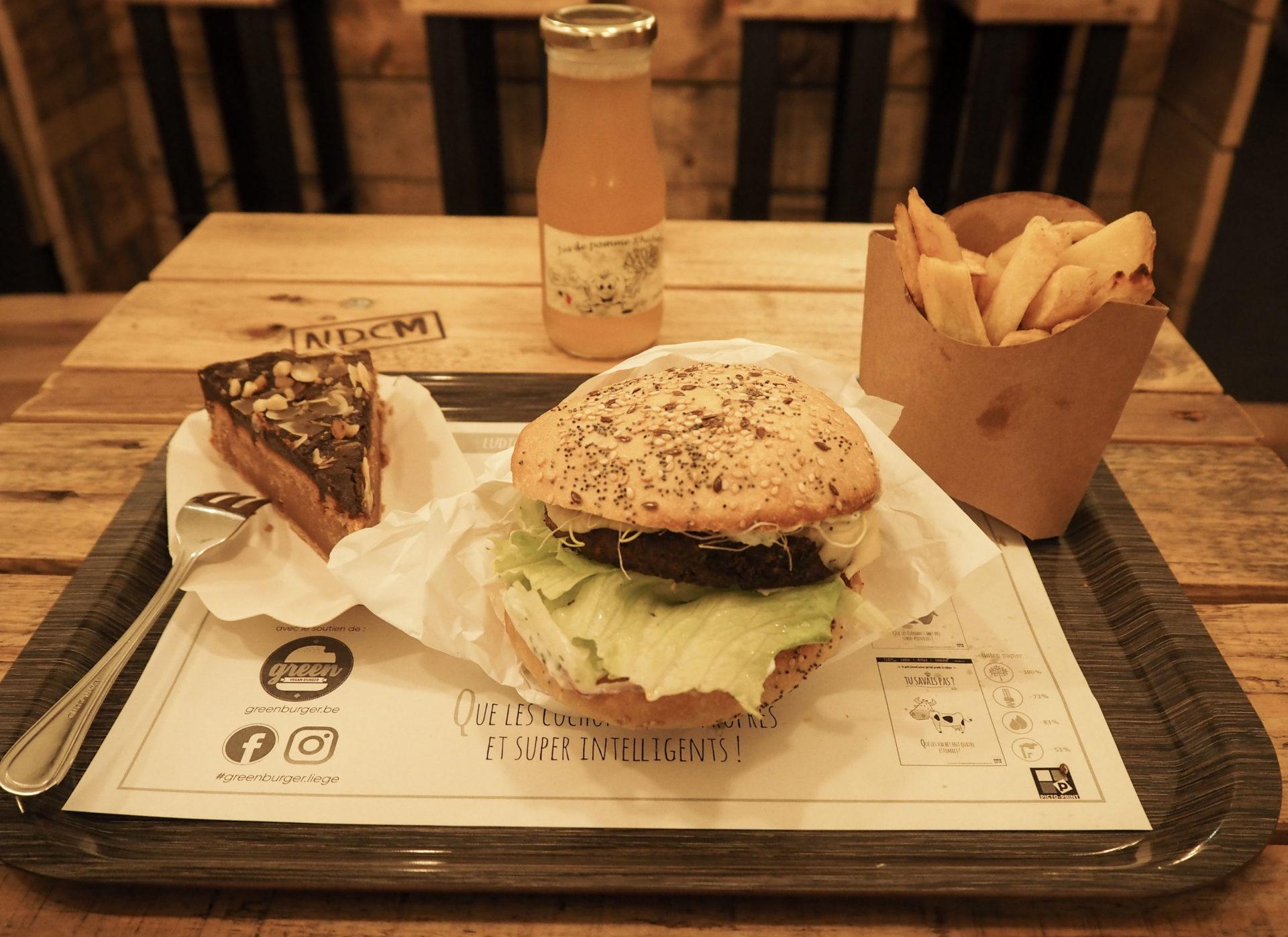 Green Burgers à Liège - Visiter Liège en Belgique en mode slow - Que faire et que visiter à Liège? - Adresses slow et gourmandes à Liège - Informations pratiques pour visiter Liège et en tomber amoureuse en quelques instants!