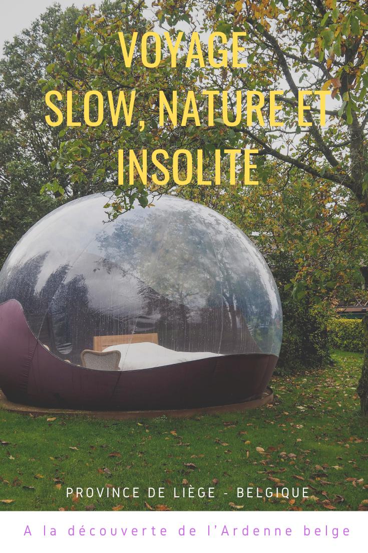 Un voyage slow, nature, rando et insolite en Ardenne belge en Province de Liège - A la découverte des couleurs de l'automne en randonnée et de bonnes adresses gourmandes et slow à découvrir dans la région!