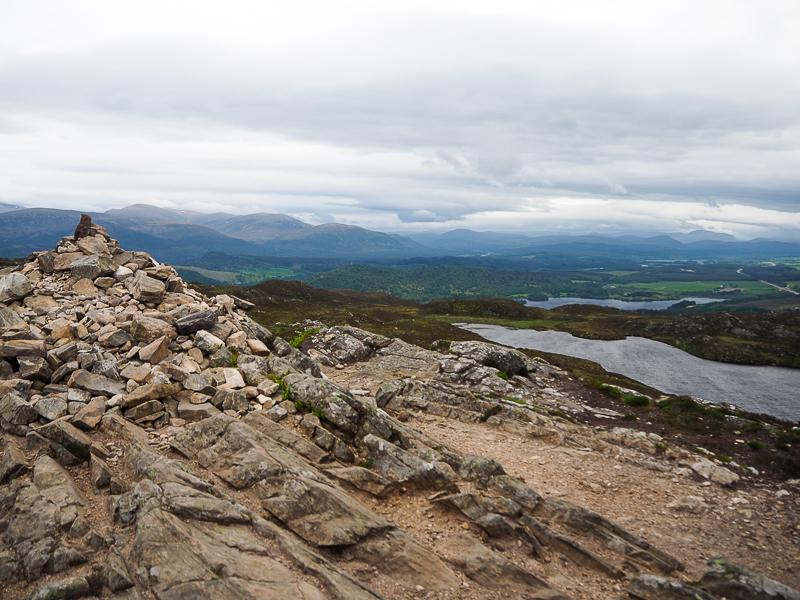 Sur les sommets d'Aviemore, vue sur le Cairngorms National Park dans les Highlands en Ecosse - Voyages et Vagabondages